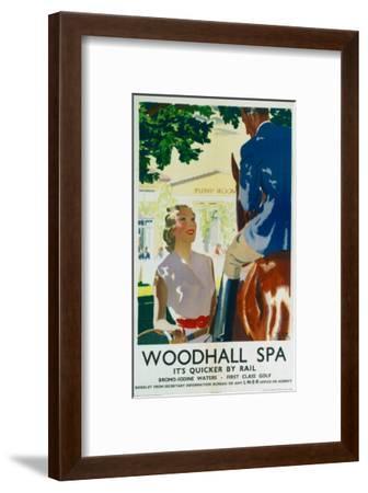 Woodhall Spa--Framed Art Print