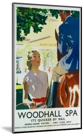 Woodhall Spa--Mounted Art Print