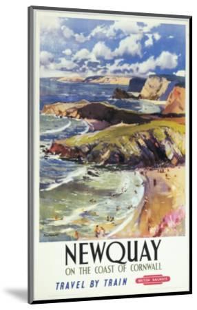Newquay--Mounted Art Print