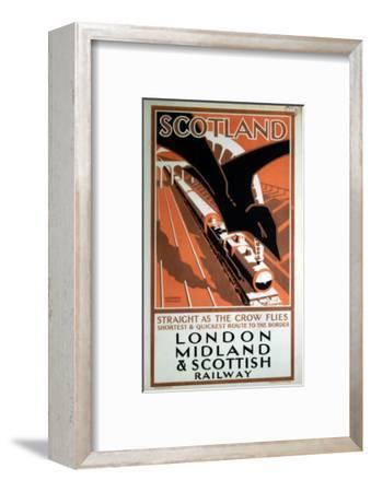 London Midland and Scotland Railway--Framed Art Print