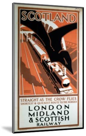 London Midland and Scotland Railway--Mounted Art Print