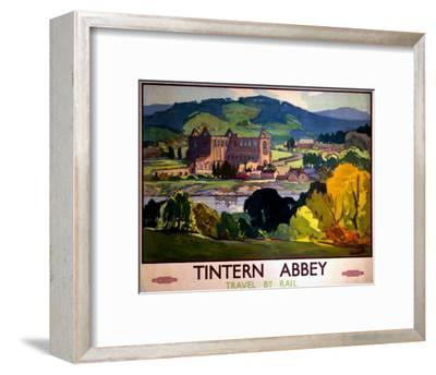 Tintern Abbey, Travel by Rail--Framed Art Print