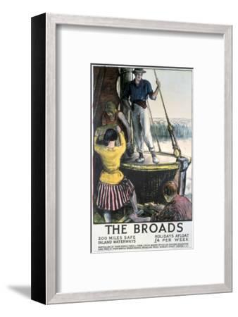 The Broads--Framed Art Print