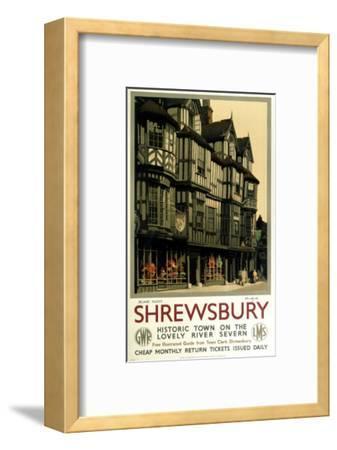 Shrewsbury--Framed Art Print