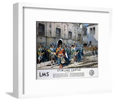 Stirling Castle LMS--Framed Art Print