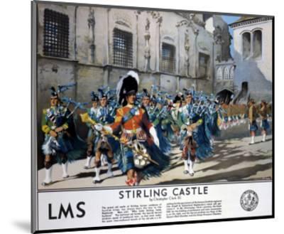 Stirling Castle LMS--Mounted Art Print