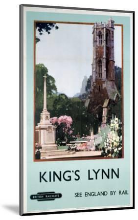 King's Lynn--Mounted Art Print