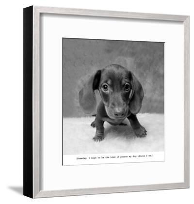 Rupert-Ginger DeLater-Framed Art Print