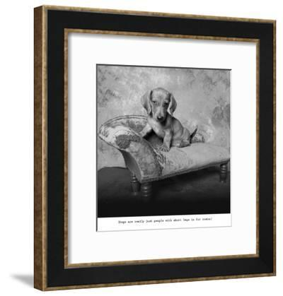 Snow White-Ginger DeLater-Framed Art Print