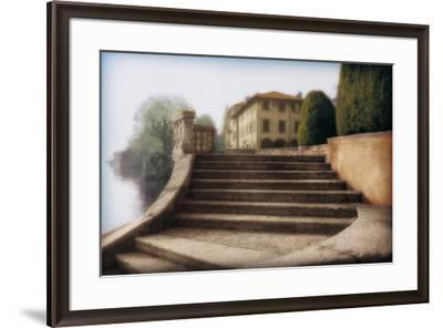 Villa Largo di Como-Tim Wampler-Framed Art Print