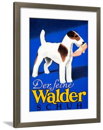 Der feine Walder Schuh--Framed Giclee Print
