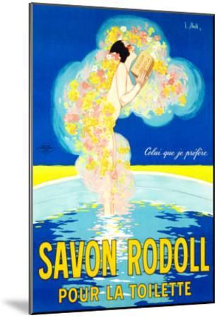 Savon Rodoll--Mounted Giclee Print