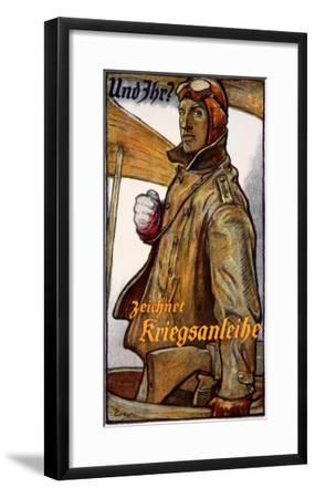Zeichnet Kriegsanleihe--Framed Giclee Print
