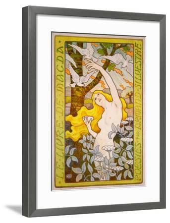 Le Livre de Magda--Framed Giclee Print