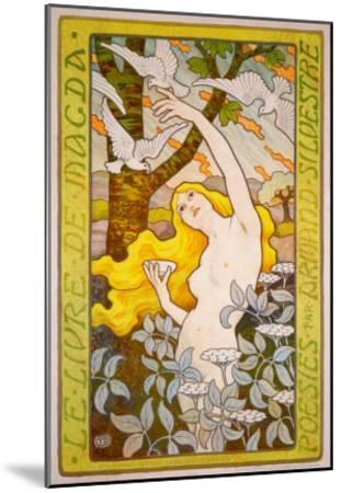 Le Livre de Magda--Mounted Giclee Print