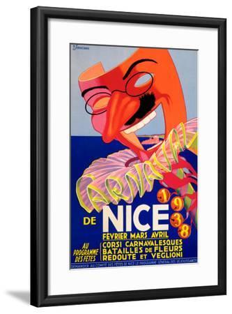 De Nice 1938--Framed Giclee Print