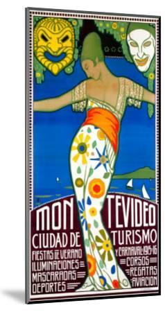 Montevideo, Cuidad de Turismo--Mounted Giclee Print