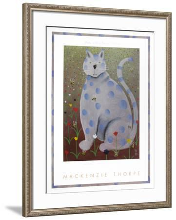 Owen with a Bee on His Nose-Mackenzie Thorpe-Framed Art Print