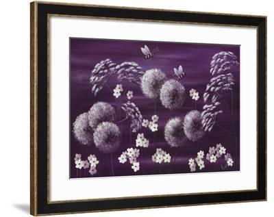Midnight Meadow-Kaye Lake-Framed Art Print