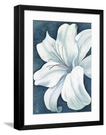 Wistful Lily I-Kaye Lake-Framed Art Print