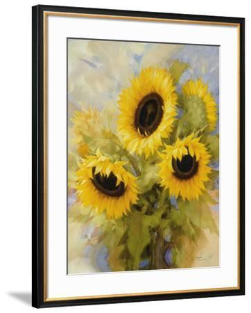 Sunflowers Dream-Igor Levashov-Framed Art Print