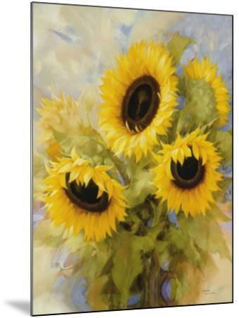 Sunflowers Dream-Igor Levashov-Mounted Art Print
