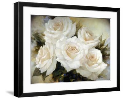 White Roses III-Igor Levashov-Framed Art Print
