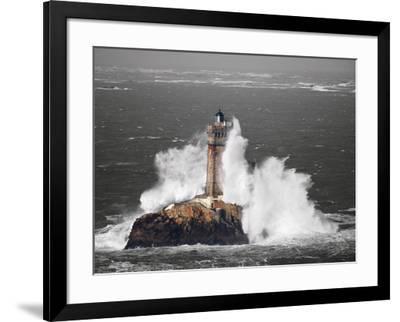 Le Phare de la Vieille-Jean-Marie Liot-Framed Art Print