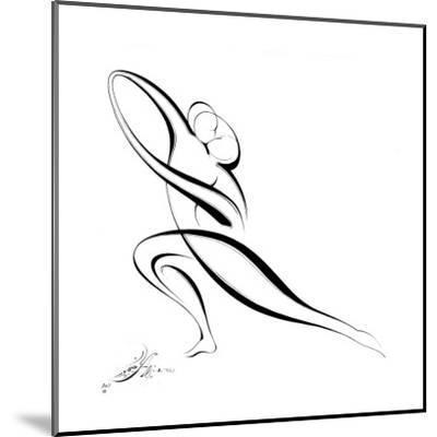 Dancing Couple VII-Alijan Alijanpour-Mounted Art Print