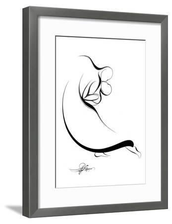 Dancing Couple VIII-Alijan Alijanpour-Framed Art Print