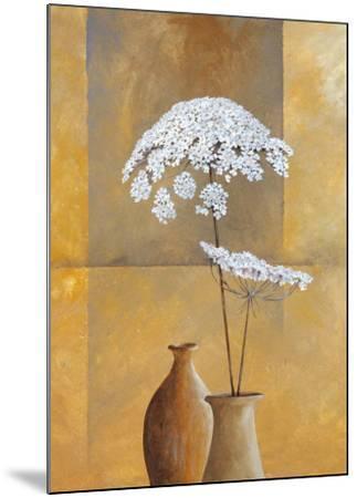 White Umbellas I-Isabel Martinez-Mounted Art Print