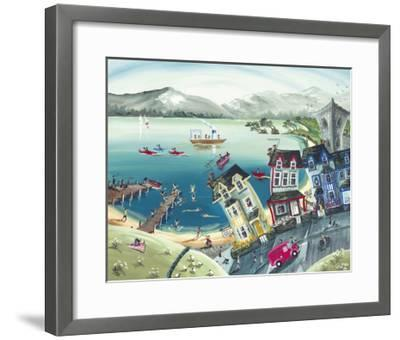 Miss Daisy's Guest Home-Anne Blundell-Framed Art Print