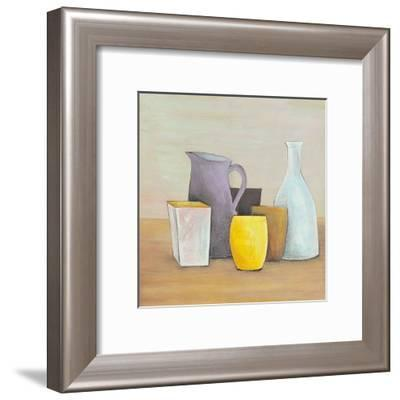 Brown, Mauve and Yellow-P. Clement-Framed Art Print