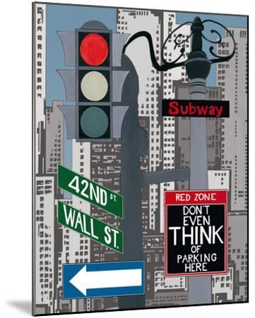 Manhattan Signes I-P. Clement-Mounted Art Print