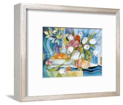 Flowers and Fruits I-Max Egger-Framed Art Print