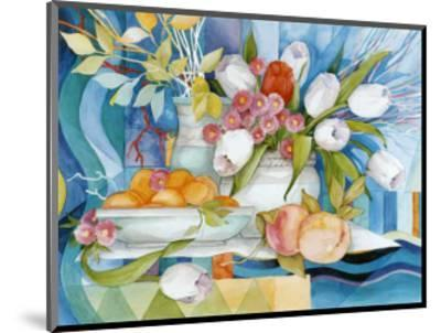 Flowers and Fruits I-Max Egger-Mounted Art Print