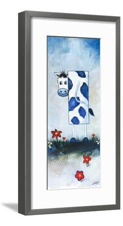 Cow-A^ Gill-Framed Art Print