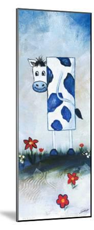Cow-A^ Gill-Mounted Art Print