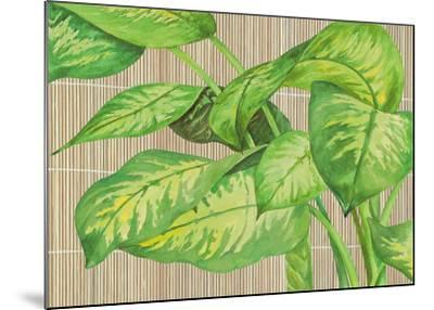 Tropical Leaves I-D^ Patrian-Mounted Art Print