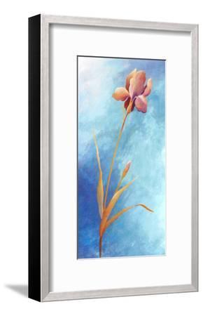 Flowers in Blue-M. Phillys-Framed Art Print