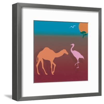 Sahara I-Mercier-Framed Art Print