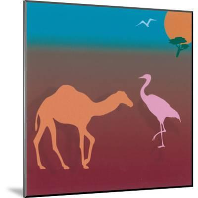 Sahara I-Mercier-Mounted Art Print