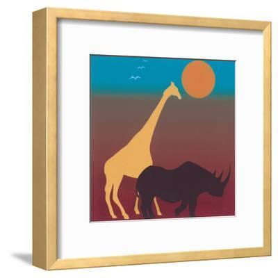 Sahara III-Mercier-Framed Art Print