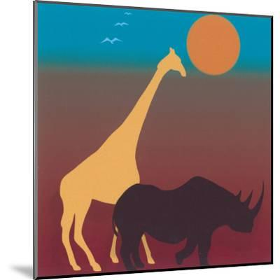 Sahara III-Mercier-Mounted Art Print