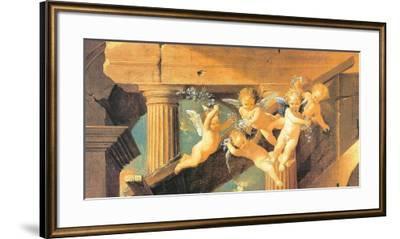 The Adoration of the Magi-Nicolas Poussin-Framed Art Print