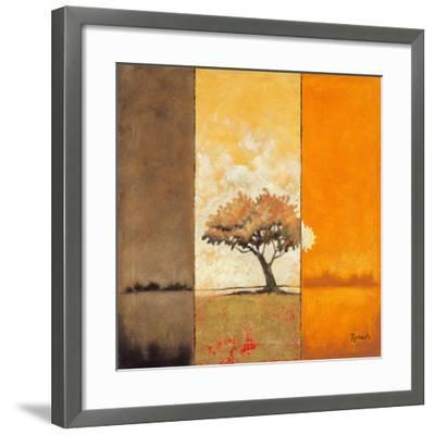 Here Comes the Sun II-Zella Ricci-Framed Art Print