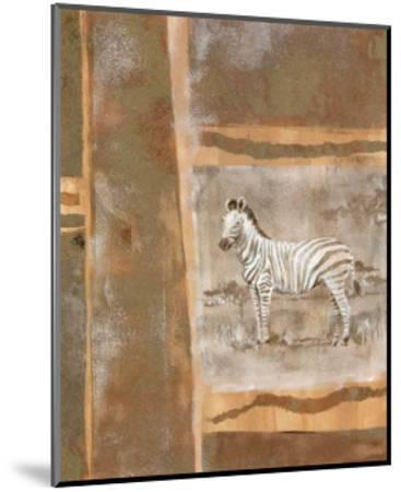 Safari II-Zella Ricci-Mounted Art Print