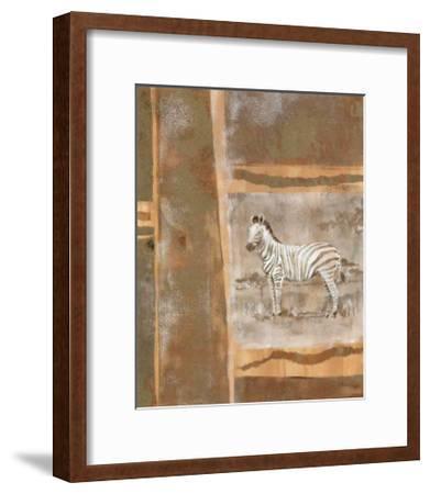 Safari II-Zella Ricci-Framed Art Print