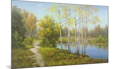 Light in the Forest-Slava-Mounted Art Print