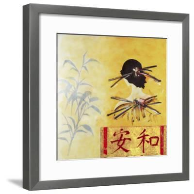 Ginza Fashion I- Vasco-Framed Art Print
